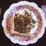 Vegan (duh) tofu quiche