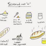 Recept: Stokbrood met 'ei' (oftewel: het beste katervoedsel everrr)