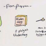 Recept: Peerflappen